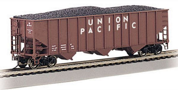 Bachmann 18702 Union Pacific Beth Steel 100 Ton 3 Bay Hopper