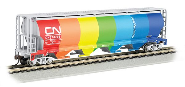 Bachmann 19133 Cylnd Grain Hopper CN Demonstrater HO