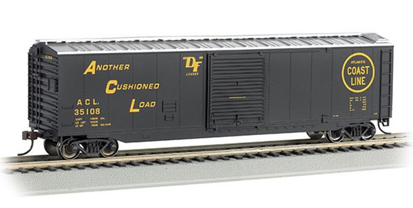Bachmann 19407 50 Sliding Door Box Atlantic Coast Line HO