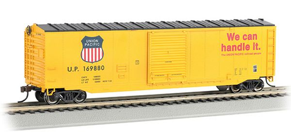 Bachmann 19408 50 Sliding Door Box Union Pacific HO