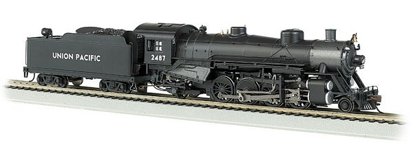 Bachmann 54301 USRA Light 2-8-2 DCC UP with Med Tender