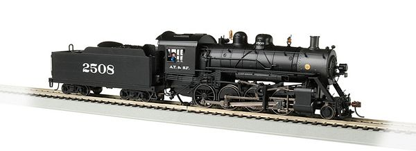 Bachmann 57905 Santa Fe 2508 Baldwin 2-8-0 Consolidation DCC Sound Value