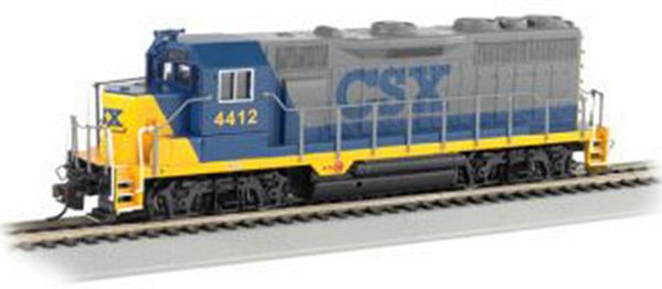 Bachmann 60715 GP35 with DCC CCX No 4412 HO