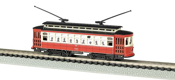 Bachmann 61091 Chicago Brill Trolley