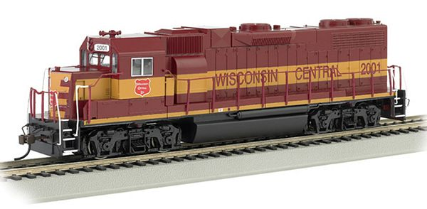 Bachmann 61712 GP38-2 Wisconsin Central HO