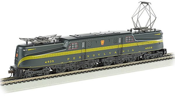 Bachmann 65303 GG1 Electric with DCC SV PRR Black Jack