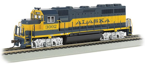 Bachmann 66303 Alaska 3002-Gp40-Dcc Sound Value
