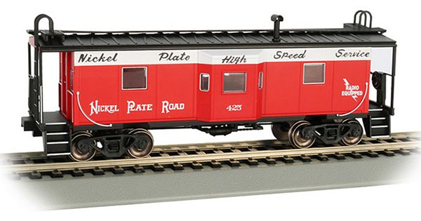Bachmann 73202 Steel Bay Window Caboose
