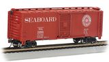 Bachmann 17005 Seaboard 24963 40 Box Car Ho Scale