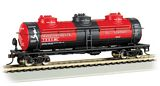 Bachmann 17142 40 3 Dome Tank Transcontinental Oil No 961 HO