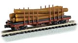Bachmann 18352 ACF 40 Log Car 1935 1960 Version