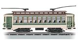 Bachmann 61043 Brill Trolley Green HO
