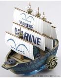 Bandai 5055619 07 ONE PIECE - MARINE SHIP