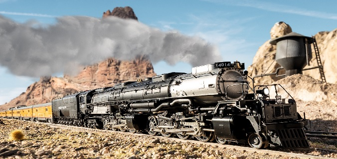 New Marklin Big Boy Steam locomotive