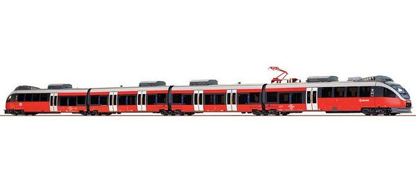 Brawa 44025 AC RailCar Talent BR 4023 MAV Start
