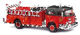 Busch 46018 Lafrance Pump Cart Closed Fire Department