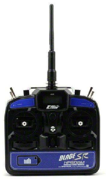 E-Flite 1057 HP6DSM 6 Channel Transmitter