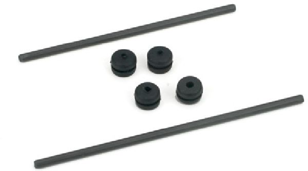 E-Flite 1226 Body Mount Rod and Grommet Set BCX-2-3