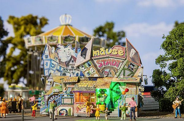 Faller 140423 Mouse Town Fun House HO Gauge