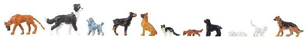 Faller 151902 Dogs and Cats