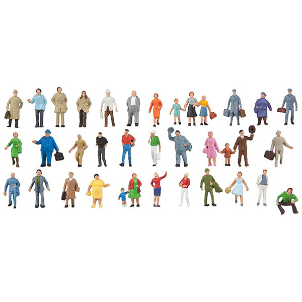 Faller 155358 Supplementary Set with 36 Figures