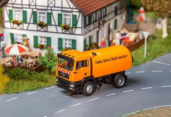 Faller 161482 Lorry MAN TGA Street Sweeper