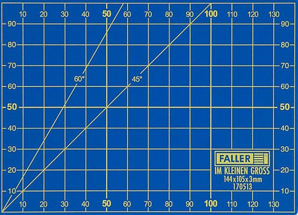 Faller 170513 A6 Cutting Mat