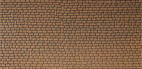 Faller 170611 Wall Card Red Sandstone