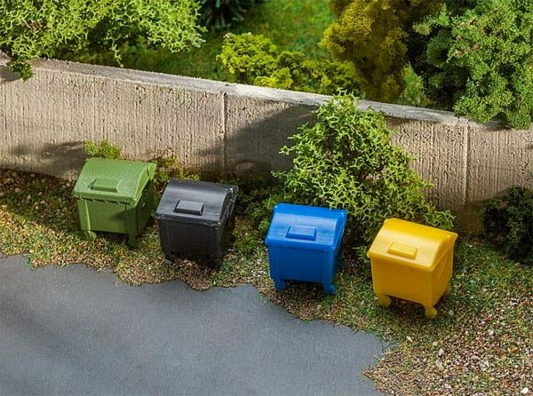 Faller 180343 Refuse Container Set