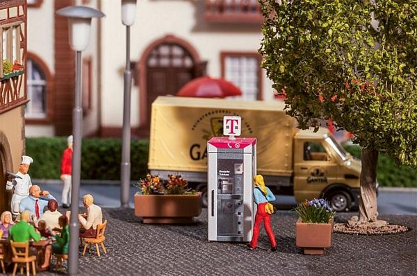 Faller 180956 Telekom Telephone Booth