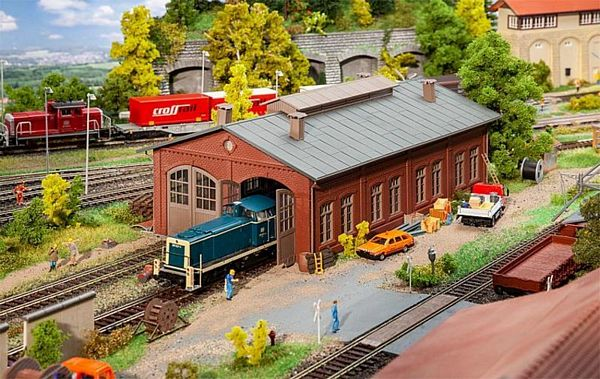 Faller 191738 Two-Level Engine Shed