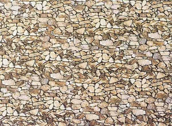 Faller 222562 Wall Card Natural Stone