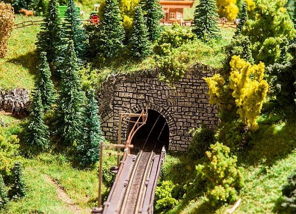 Faller 272654 Landwasser Decorative Tunnel Portals