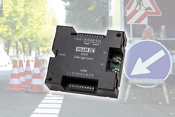 Traffic Light Controller In Xilinx: Faller HO Car System