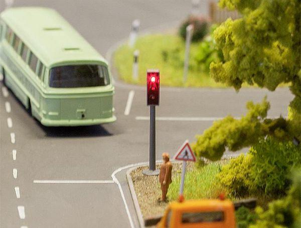 Модель светофора жд
