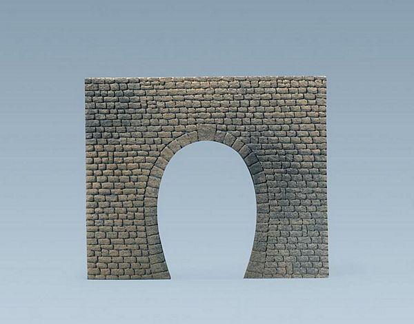 Faller 170830 Decorative sheet tunnel portal Natural cut stone Single Track