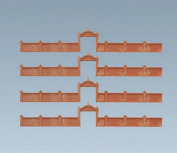 Faller 272405 Factory wall 12 684 mm