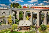 Faller 120466 Viaduct Set Two Track Curved