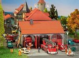 Faller 130162 Fire Brigade Engine House HO Gauge