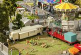 Faller 140480 Set of Funfair Caravans I HO Gauge