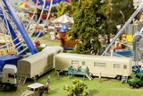 Faller 140481 Set of Funfair Caravans II HO Gauge