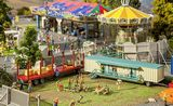 Faller 140482 Set of Funfair Caravans III HO Gauge