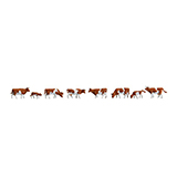 Faller 155507 Cows Brown Spotted