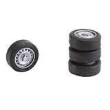 Faller 163108 4 Tires and Rims for Sprinter