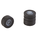 Faller 163110 4 Tires and Rims for N Lorries