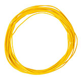 Faller 163785 Strand 0 04 mm yellow 10 m