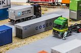 Faller 180845 40ft Container COSCO