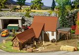 Faller 191707 Agricultural Building with Accessories
