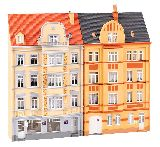 Faller 191758 2 Urban Relief Houses 4 Storeys