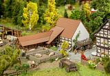 Faller 232371 Agricultural Building with Accessories